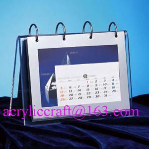 China 2015 desktop acrylic brochure holder / acrylic calendar holder on sale