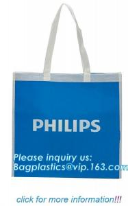 China Eco friendly non woven bags, Reusable Portable Printable Handled Packing Non Woven Bag, Custom Fabric Shopping Organic N on sale
