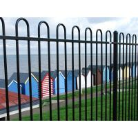 Hairpin Heavy Duty Wire Mesh Fence Panels Hoop Top / Bow Top Railings Steel Materials