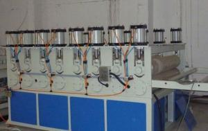 China WPC PVC Construction Board Production Line , WPC PVC CELUKA Board Extrusion Line on sale