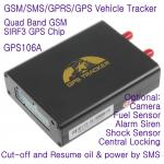 China GPS106 Car Auto Taxi Truck Fleet GPS GSM Tracker W/ Photo Snapshot & Online GPRS Tracking wholesale
