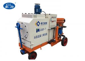 China 6.6kw Power Dry Mix Shotcrete Machine Mortar Spraying Machine 6 Month Warranty on sale