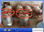 300KN Breaking Load Anti Twist Wire Rope , Hot Dip Galvanised Steel Wire Rope