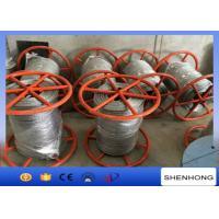 300KN Breaking Load Anti Twist Wire Rope , Hot Dip Galvanised Steel Wire Rope