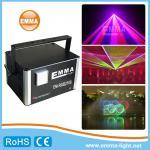 luz profesional a todo color de la demostración del laser de la etapa de la luz laser de la animación 3D de 10w RGB