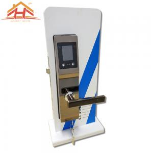 China High Level Face And Palm Recognition Door Lock With Anti Peephole on sale