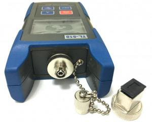 China Mini Handheld Optical Laser Power Meter , Fiber Optic Light Meter With FC SC Adapter Head on sale