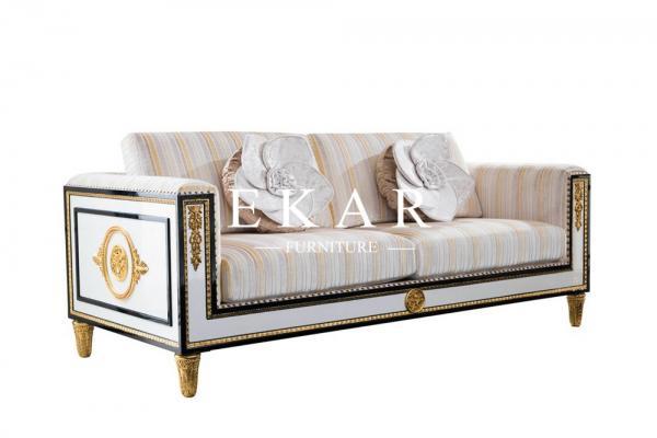 Stupendous Spanish Style Wooden Design Royal Furniture Sofa Set Fln M Interior Design Ideas Gentotryabchikinfo