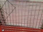 3.0 mm Flat Surface Powder Coated Wire Mesh Panels , Welded Fence Panels For Construction