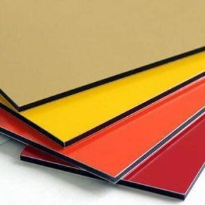 China Solid color finish Aluminum composite panel up to 6000mm length on sale
