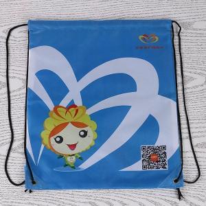 China Portable Custom Drawstring Backpack , Multi Functional Sports Sack Bag on sale