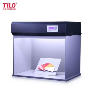 China Tilo color viewing light box uv light checker with d65 light tube adjustable illumination lux 10 to 1000 lux T90-7 on sale