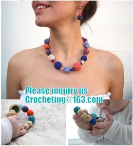China Mother and child, Teething necklace, Breastfeeding Necklace for Mom, Teething toy on sale