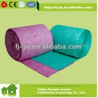 Nonwoven Filter Fiber for HVAC Pocket Filter Air Filter Media Roll Fujian China Manufacture