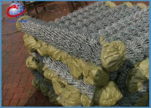 China Farm Fence Wire Mesh Roll / Chain Link Fence 1.8m x 30m Customized on sale