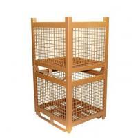 Retail General Collapsible Storage Wire Mesh Steel Bin