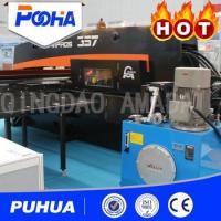 China High Nibbling Rate CNC Hydraulic Punching Machine 800-2000 KN Punch Force on sale