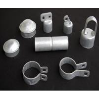 ASTM A392 standard chain link fence accessories, brace bands   post cap   sleeves   tension bar