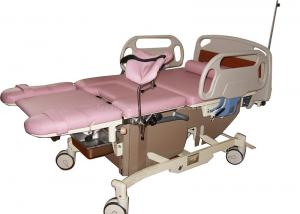 China Low Position Hospital Delivery Bed Retractable Leg Holder Linak Motor on sale