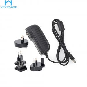 China Interchangeable Universal Power Plug Adapter 12v 2.5a 30w on sale