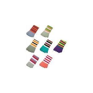 China custom colorful 120 needles five toes sockings ,women toe socks keep feet dry and clean on sale