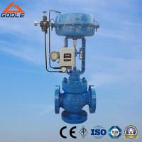China Type ZJHQ/ZJHX Pneumatic 3-Way  Flanged Flow Control Valve (Diverting/Mixing)