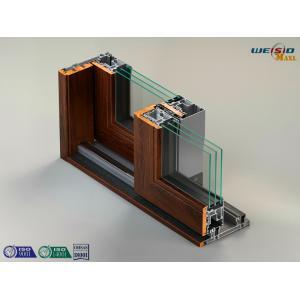 Quality T5 Temper Thermal Break Aluminium Extrusion Profiles Aluminum Window Frame for sale