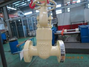 China Standard Pressure Seal Gate Valve For Oil & Gas Industry on sale