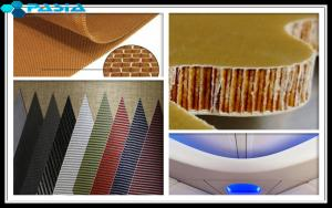 Quality 10mm Thickness Aramid Honeycomb Panels With Aramid Fiber Fabrics Prepreg for sale