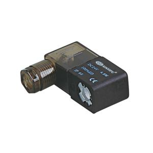 China 200C 24 Volt Solenoid Coil 200 / 300 / 400 Series F Class For Pneumatic Solenoid Valve on sale