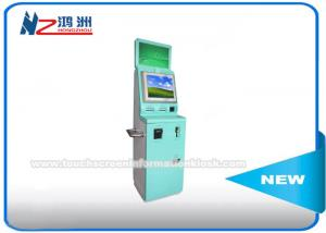 China Dual Screen Telecom Phone Card Vending Kiosk Machine With RFID Card Reader on sale