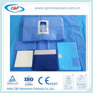 Quality Abdominal Lithotomy Surgical Drape sets,leadiing manufacturer for sale