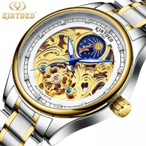 China Classic Fashion Tourbillon Mechanical Watch 40mm Dial Diameter Buckle Clasp on sale