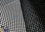 PTFE Coated Fiberglass Mesh Fabric 4X4MM 580GSM Black Conveyor Belt Roll