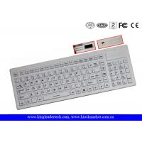 China Industrial Silicone Wireless Keyboard IP67 Compliance Built - In Touchpad on sale