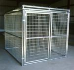Large space outdoor safety dog run wire mesh kennel in different types