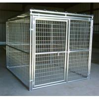 China Large space outdoor safety dog run wire mesh kennel in different types on sale