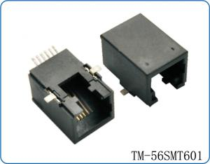 China SMT RJ45 plastic connector on sale