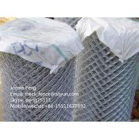China High quality galvanized chain link mesh fence best price on sale