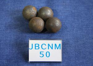 China High Precision Steel Balls For Ball Mill , Small Steel Ball Mill for Coal Production D50mm Surface Hardness 62-63HRC on sale