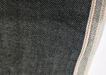 Black Raw Selvedge Denim Fabric 11.2oz Cotton 32/33 Width W93828A With Slub