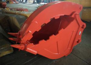 China Excavator Grapple Hydraulic Bucket Thumb Grapple With Grating Bucket on sale