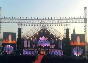 China SMD P6 Outdoor Video Stage Background LED Screen Board High Definition on sale