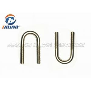 China Standard 316 Stainless Steel U Bolts  5 / 8 Inch With Logo Customized on sale