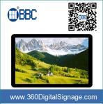 47 telas do Signage de Digitas da exposição do LCD com quadro do metal para anunciar