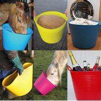 China colorful garden flexible plastic barrels on sale