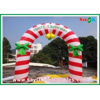PVC Inflatable Holiday Decorations , Party Inflatable Christmas Arch