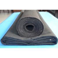 black or white non woven geotextile PP PET staple fiber fabrics