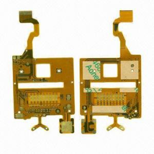 China High-quality Double Sides Flex Printed Circuit Board Irregular Shape FPCs, 0.06mm Tolerance on sale