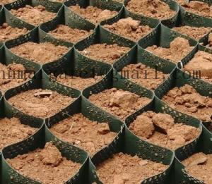 China Geocell for soft soil foundation on sale